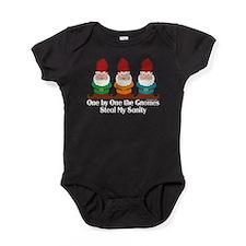 Funny Gnome saying Baby Bodysuit