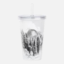 Cute Half dome Acrylic Double-wall Tumbler
