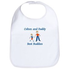 Colton & Daddy - Best Buddies Bib