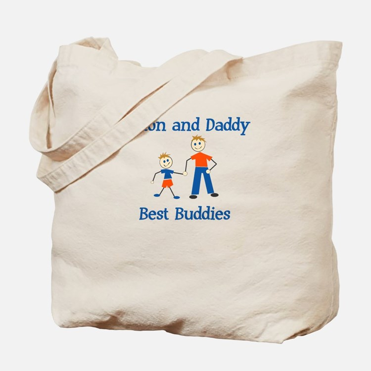 Colton & Daddy - Best Buddies Tote Bag