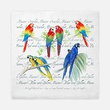 Macaws Queen Duvet