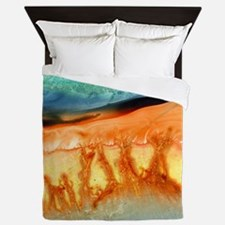 Cute Orange Queen Duvet