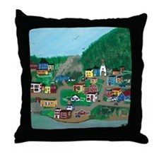 Anytown, NL Throw Pillow