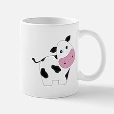 Cute Black and White Cow Mugs