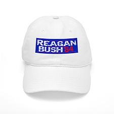 Reagan 84 - distressed Baseball Baseball Cap