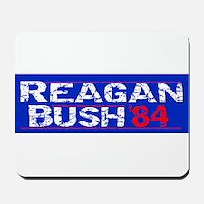 Reagan 84 - distressed Mousepad