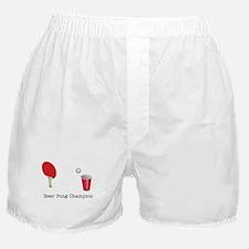 Beer Pong Champion Boxer Shorts