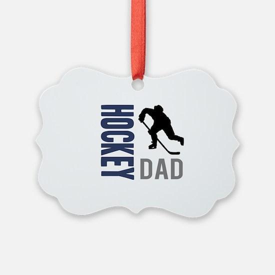 Hockey Dad Ornament