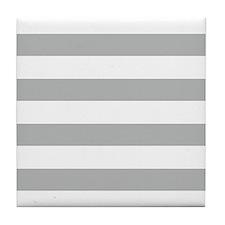 Cute Striped Tile Coaster