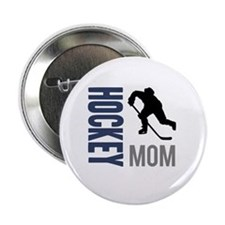 "Hockey Mom 2.25"" Button"