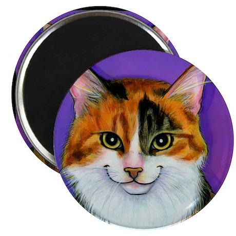 """Calico Cat 2.25"""" Magnet (10 pack)"""