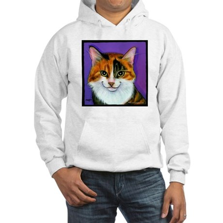 Calico Cat Hooded Sweatshirt