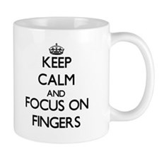 Keep Calm and focus on Fingers Mugs