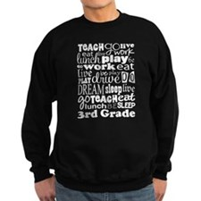 3rd Grade Teacher quote Jumper Sweater