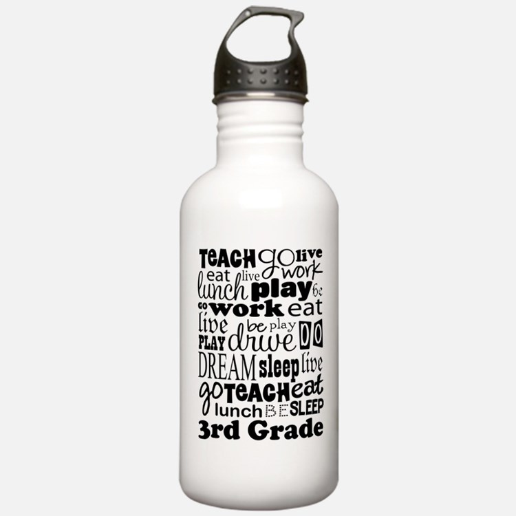 3rd Grade Teacher quot Water Bottle