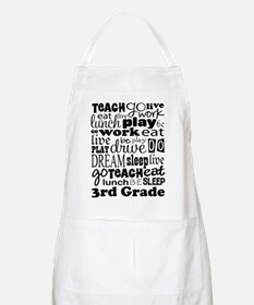 3rd Grade Teacher quote Apron