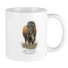 Bison Buffalo Animal Totem Spirit Guide Art Mugs