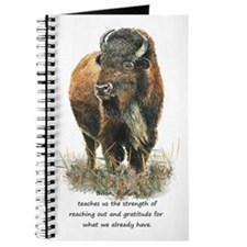 Bison Buffalo Animal Totem Spirit Guide Art Journa
