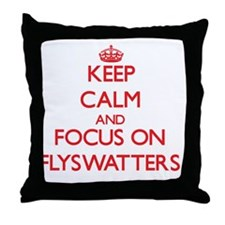 Cute Adjectives Throw Pillow