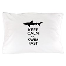 Cute Calm dive Pillow Case