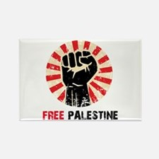 Funny Free gaza Rectangle Magnet