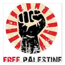 """Cute Free palestine Square Car Magnet 3"""" x 3"""""""