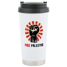 Cool Palestine support Travel Mug