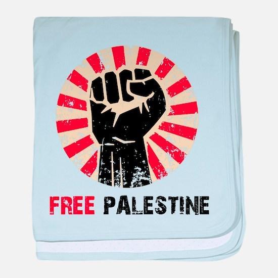 Unique Free palestine baby blanket