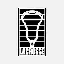 Lacrosse Head Lines 3'x5' Area Rug