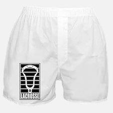 Lacrosse Head Lines Boxer Shorts