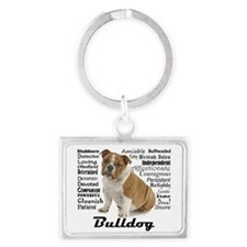 Bulldog Traits Keychains
