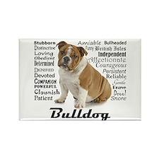 Bulldog Traits Magnets