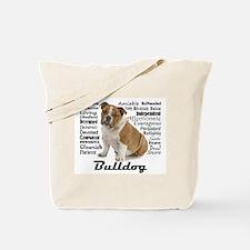 Bulldog Traits Tote Bag
