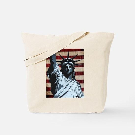 Liberty Flag Tote Bag
