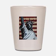 Liberty Flag Shot Glass