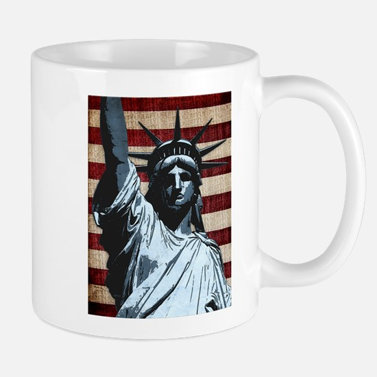 Liberty Flag Mugs