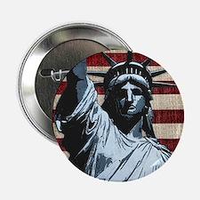 """Liberty Flag 2.25"""" Button"""