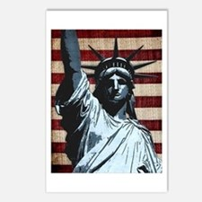 Liberty Flag Postcards (Package of 8)