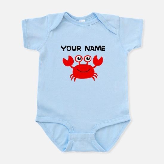 Custom Red Crab Body Suit