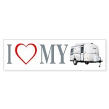I Love My Casita (open Heart) Bumper Bumper Sticker