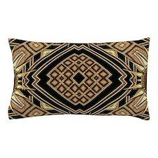 Cool Black sun Pillow Case