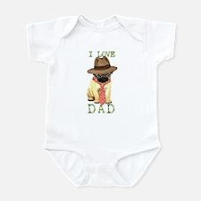Pug Dad Infant Bodysuit