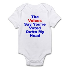 Voices Say You're Outta My Head Infant Bodysuit