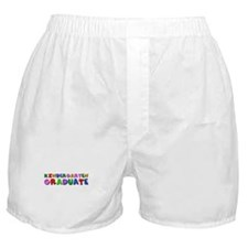 Kindergarten graduation idea Boxer Shorts