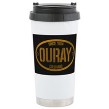 Ouray Spraypaint Oval Travel Mug