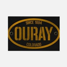 Ouray Spraypaint Oval Rectangle Magnet