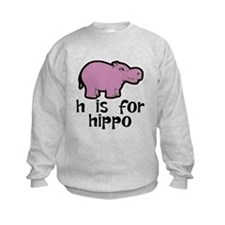 H Is For Hippo Sweatshirt