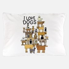 Cool Dogs Pillow Case