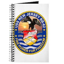 USS New Jersey BB-62 Journal
