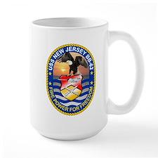 USS New Jersey BB-62 Mugs